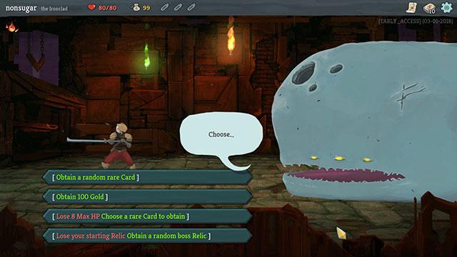 Slay the Spireはカードゲーム+ローグライクなゲームです。